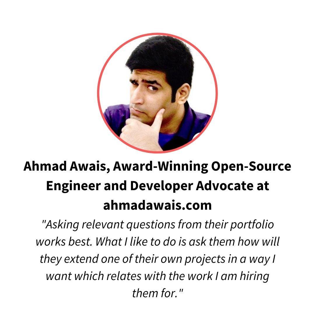 Ahmad Awais, open source engineer and dev advocate