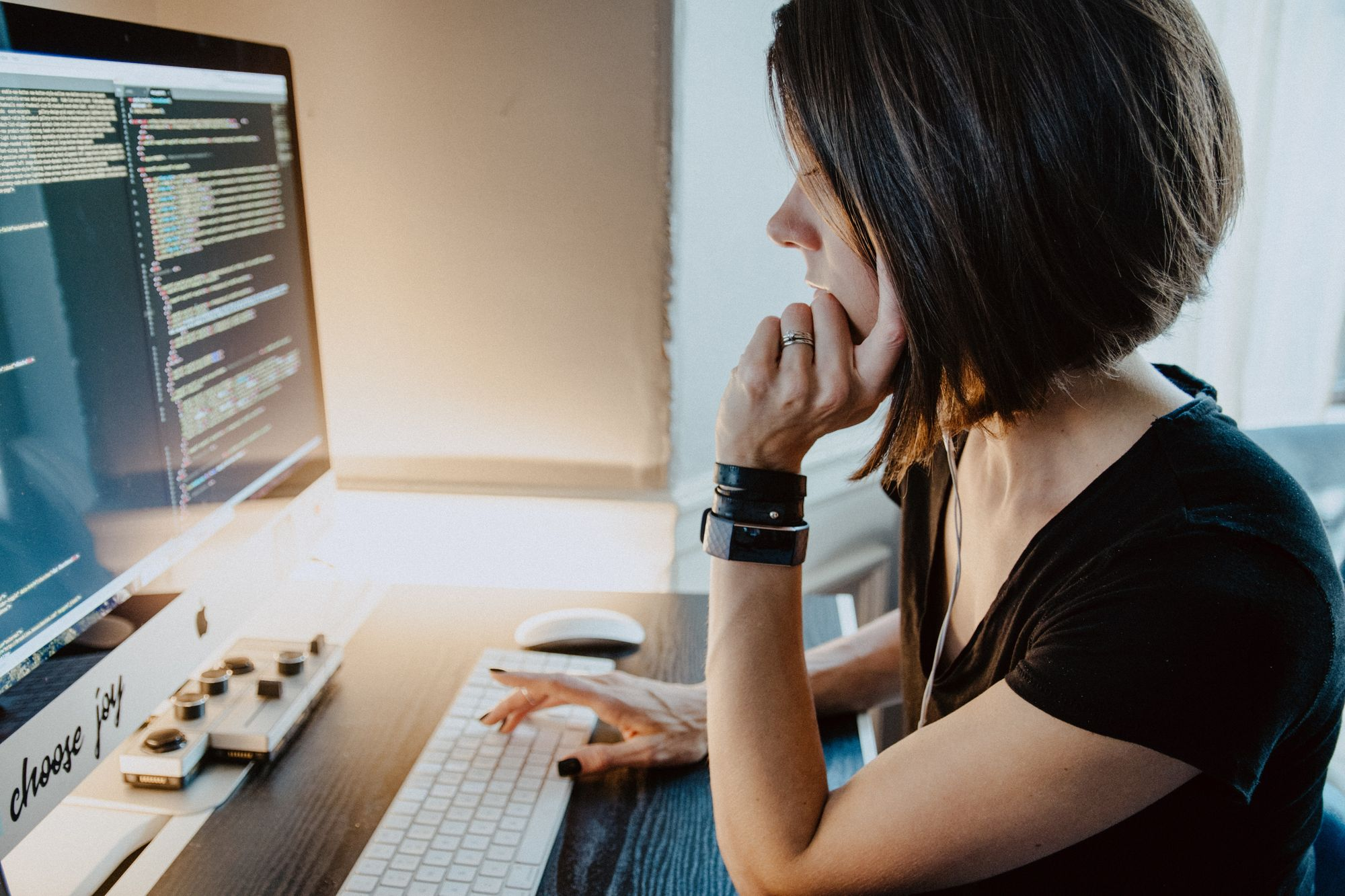 Woman who codes